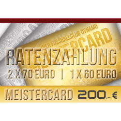 BFC - MEISTERCARD Ratenzahlung